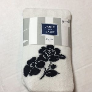 NWT/ Janie and Jack | infant girl's tights 0-6